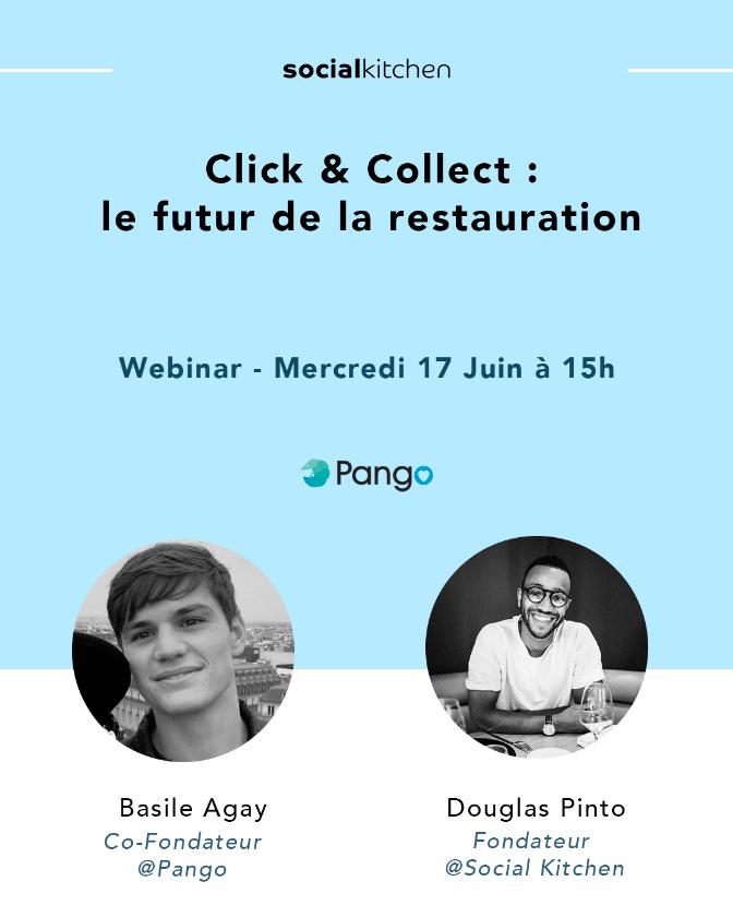 Webinar - Click & Collect : le futur de la restauration post-covid ?