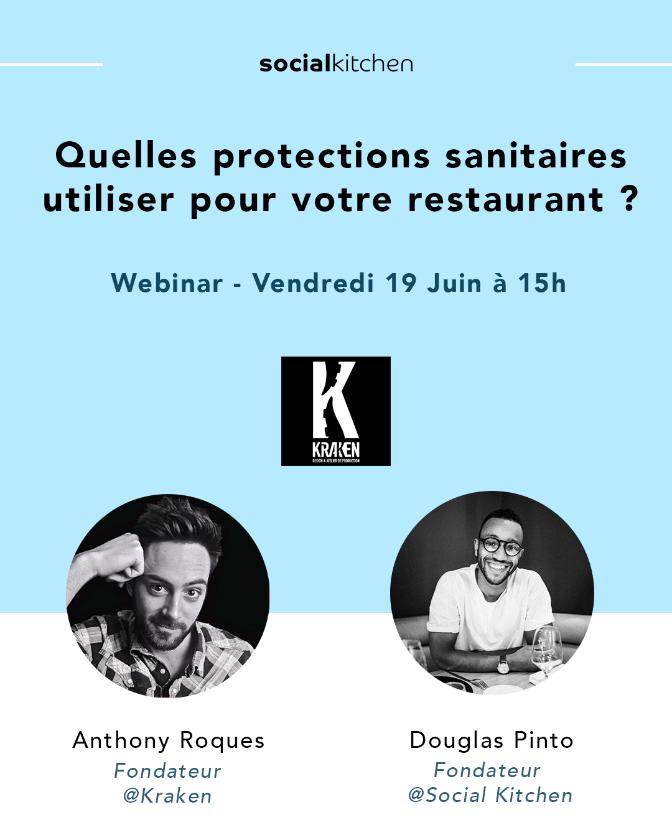 Webinar - Quelles protections sanitaires utiliser pour votre restaurant ?